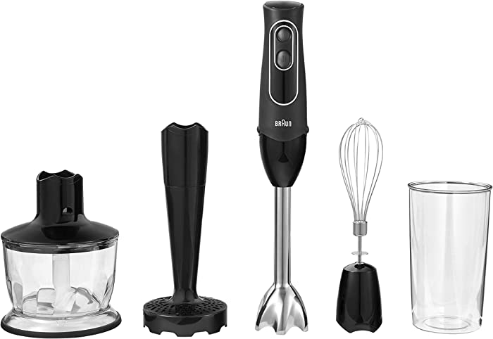Braun Multiquick Hand Blender, Black