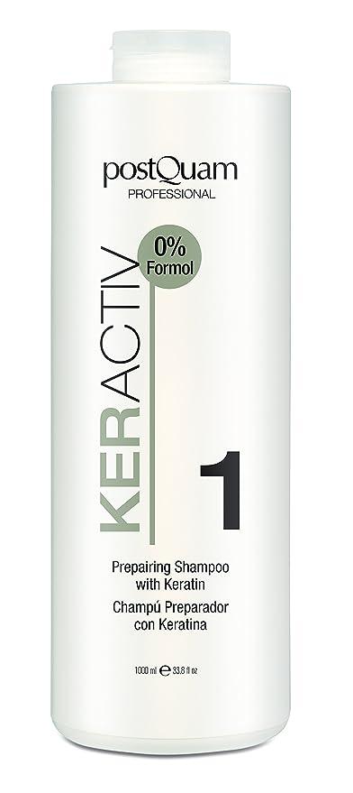 POSTQUAM - Champu preparador con keratina 1000 ml