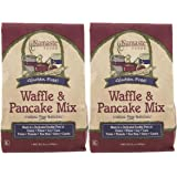 Namaste Foods Waffle/Pancake Mix, 21 oz, 2 pk