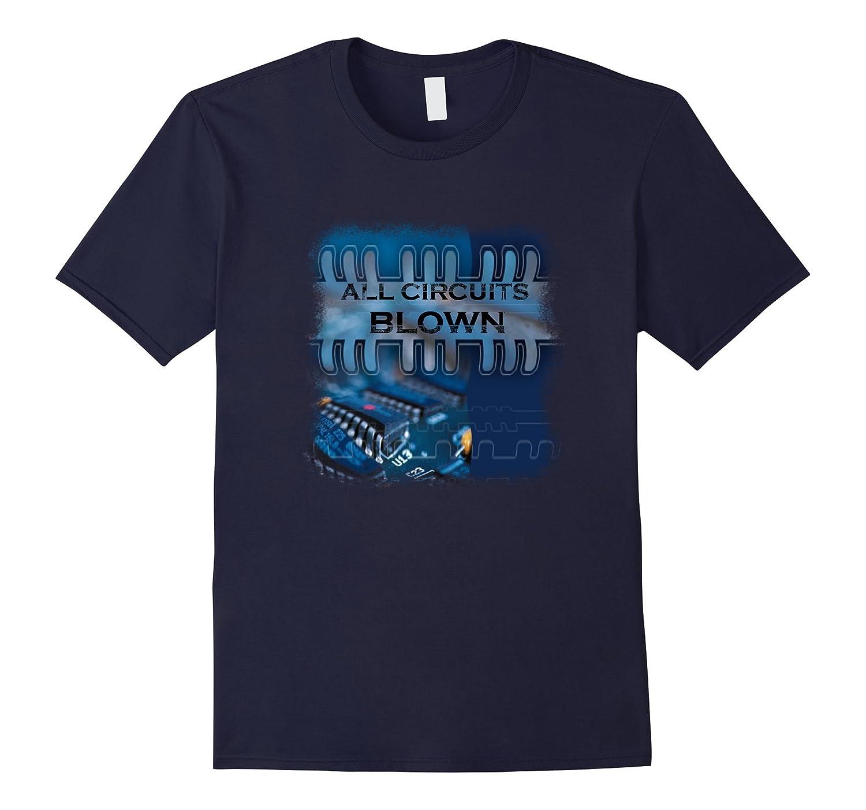 Blown Circuits T Shirt-Art
