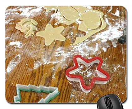 Amazon Com Mouse Pads Christmas Cookies Cooking Culinary