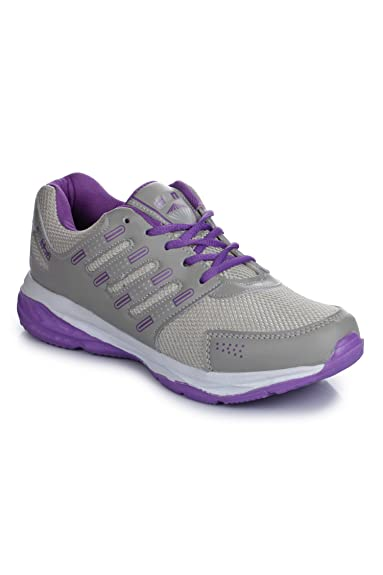 eecd3131dcce2f Action Shoes Women's Purple Mesh Sports Shoes - 4: Amazon.in: Shoes ...