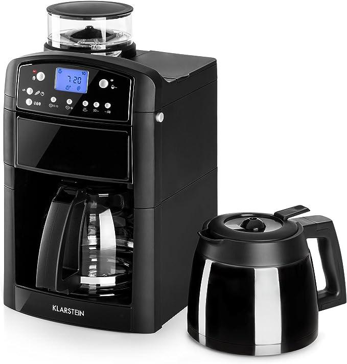 Klarstein Aromatica - Máquina de café con molinillo conico ...