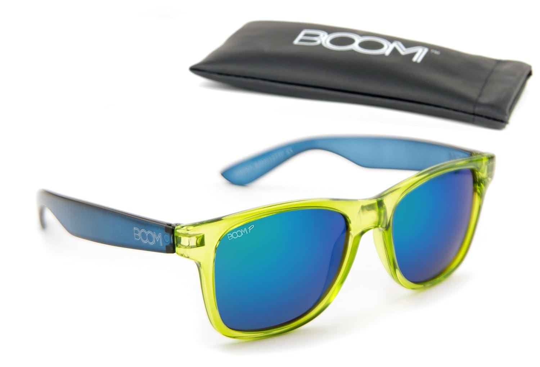 c270df0e15 Amazon.com  Boom Reflection Polarized Sunglasses by Dimensional Optics -  ALIEN  Clothing
