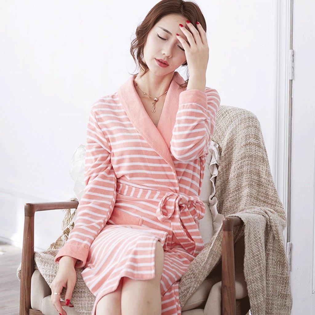 Albornoces Summer Lady Sleep Robe Pure Cotton B016WXR1VY Thin XXL ...