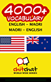 4000+ English - Maori Maori - English Vocabulary