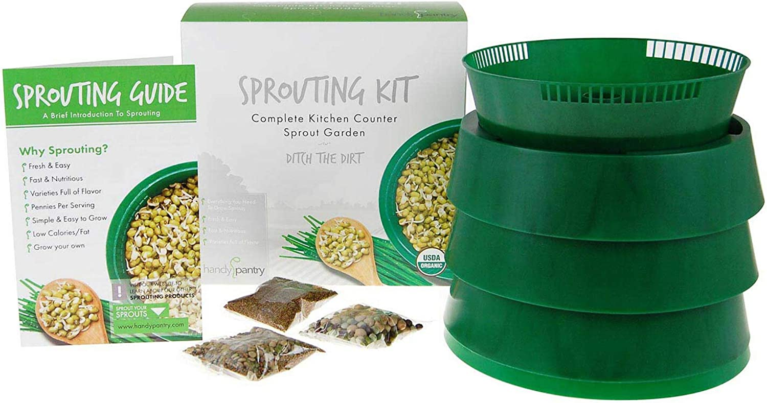 Handy Pantry Complete Sprouting Kit