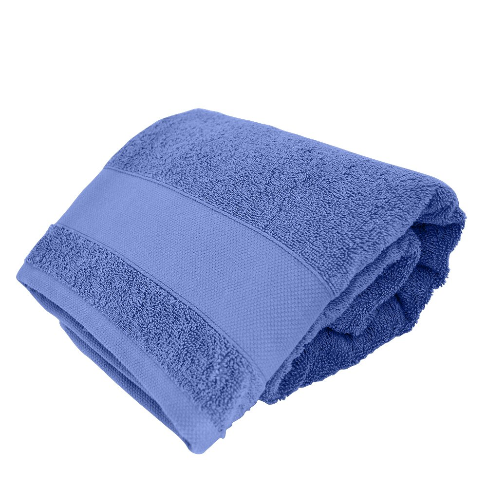 Amo la Casa Linea Bagno Spugna Ospite, 100% Cotone, Blu, 35x55 cm Siretessile B31705M410 0045 0009