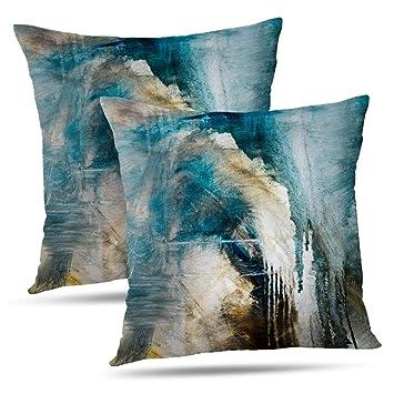 Amazon.com: WAYATO Fundas de almohada decorativas para sala ...