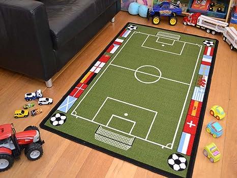 Tappeti Per Bambini Campo Da Calcio : Rugs supermarket tappeto da gioco per bambini antiscivolo