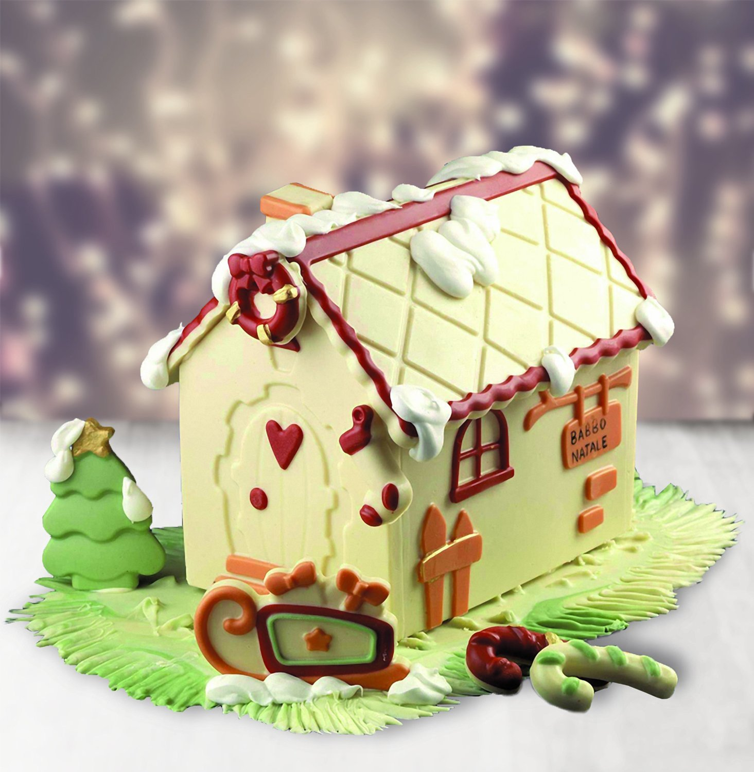 Silikomart Home Sweet Home Gingerbread House Silicone Mold