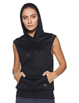8940190f093 PUMA Explosive Pull à capuche Femme Puma Black FR   XS (Taille Fabricant    XS