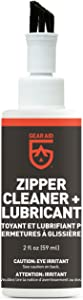 Gear Aid Zipper Cleaner and Lubricant for Wetsuits, Tents and Bags, 2 oz