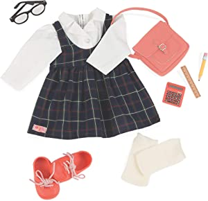 """Our Generation by Battat- Perfect Score School Uniform Deluxe Doll Outfit- Doll Clothes & Accessories for 18"""" Dolls- for Age 3 Years & Up"""