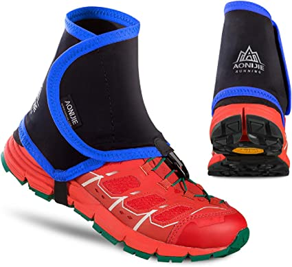 Azarxis Low Trail Gaiters Protective Shoe Covers Wrapid Gators for Men /& Wome...