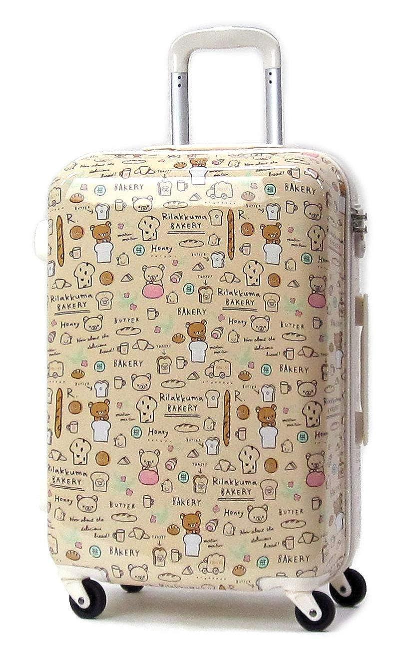[リラックマ] Rilakkuma BAKERY スーツケース ジッパー 48L 2RK0-56H B07S4HLFZ9 アイボリー