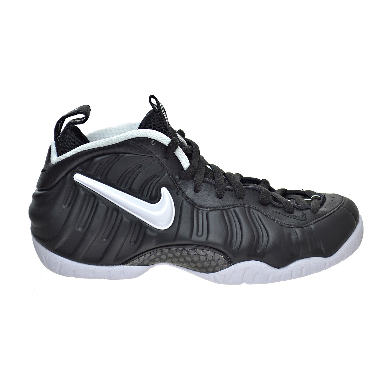 Black Black White Nike Air Foamposite Pro Mens Hi Top Basketball Trainers 624041 Sneakers shoes