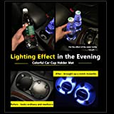 (2pcs)2018 2017 2016 2015 Subaru crosstrek forester impreza crosstrek outback wrx brz XV Legacy LEVORG accessories Car Lighting Parts For Cup Holder Lamps Interior Automotive LED Lights