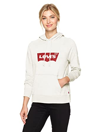 25d408d97f1 Levi's Womens Graphic Hoodie Hoody: Amazon.co.uk: Clothing