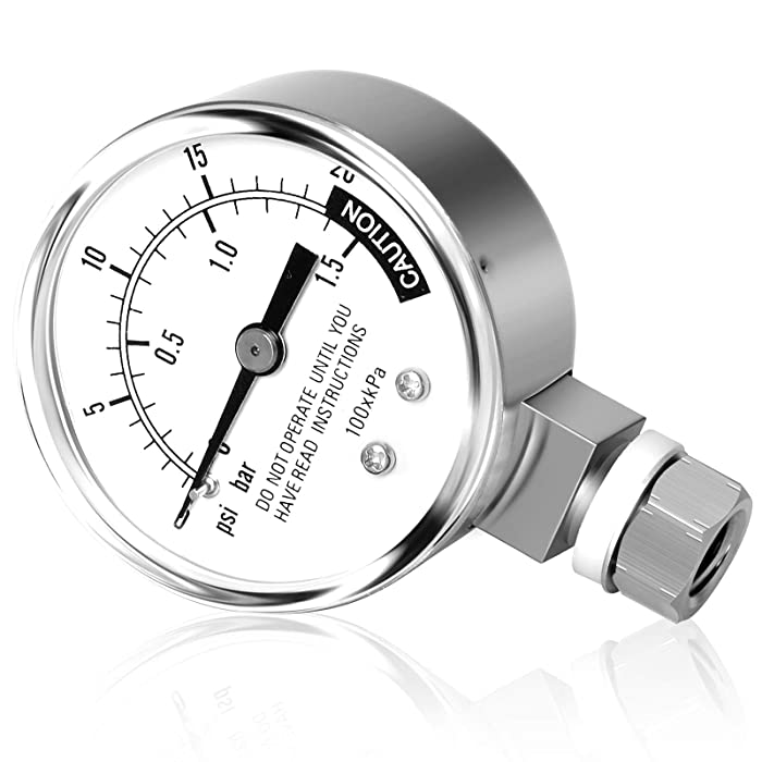 MEANLIN MEASURE 0-20Psi 2