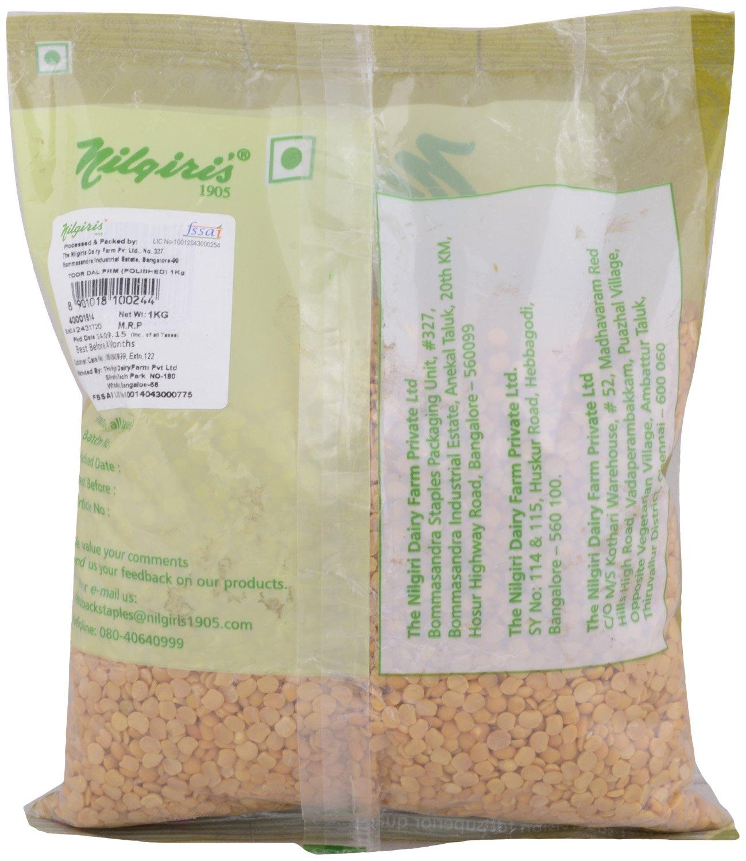 Nilgiris Premium Toor Dal, 1kg: Amazon in