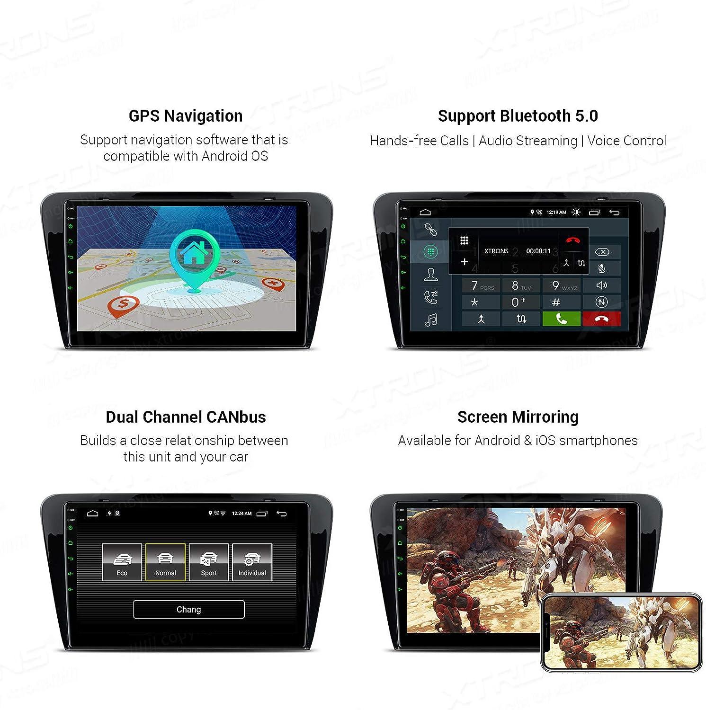 Xtrons 10 1 Android 10 0 Autoradio Mit Ips 2 5d Elektronik
