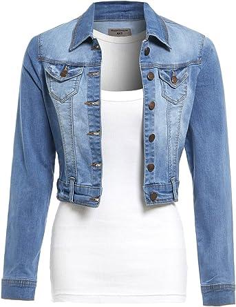 SS7 Womens Stretch Denim Jacket