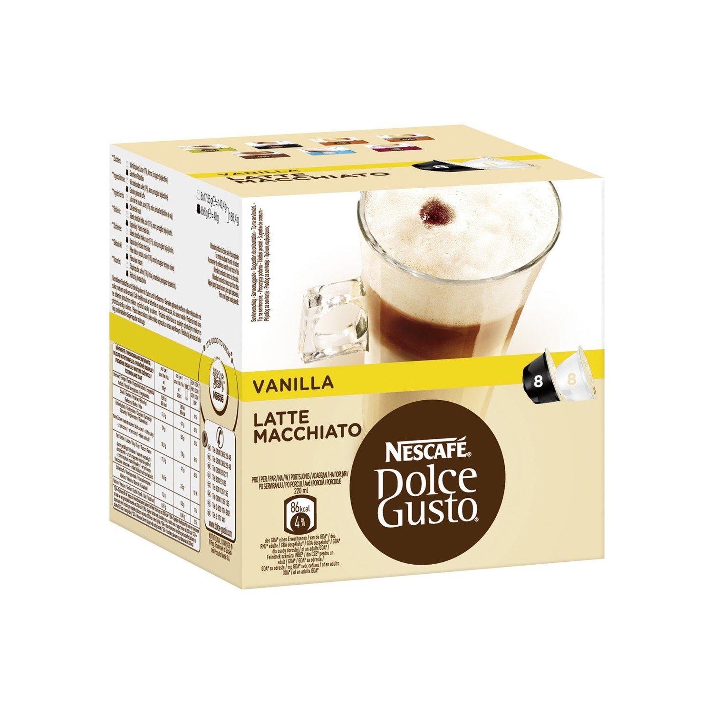 Nescafé Dolce Gusto Latte Macchiato Vanilla, 16 Capsules (8 Servings) GroceryCentre 12125501