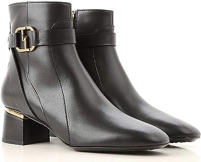 Tod's Women's Black Shiny Calf Leather