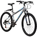 VELOCI Bicicletas, Modelo Deus S/del, Gris, Rodado 26