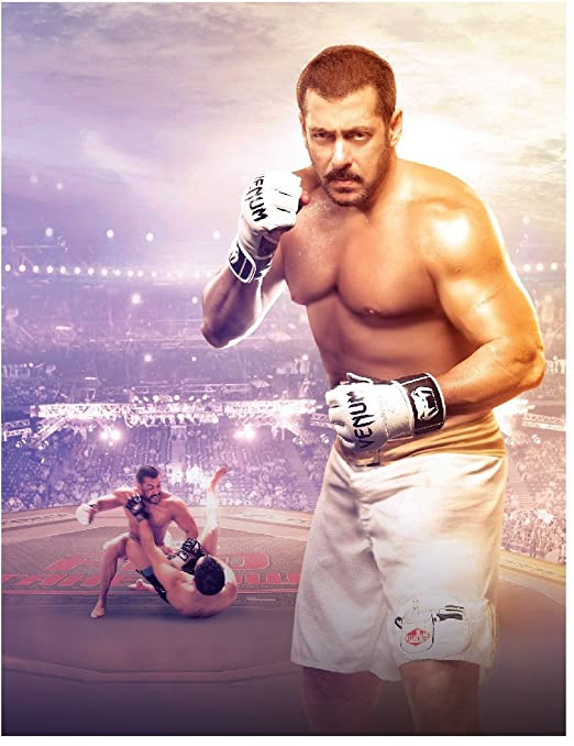 Amazon com: Sultan (2016) Blu Ray Salman Khan /Anushka