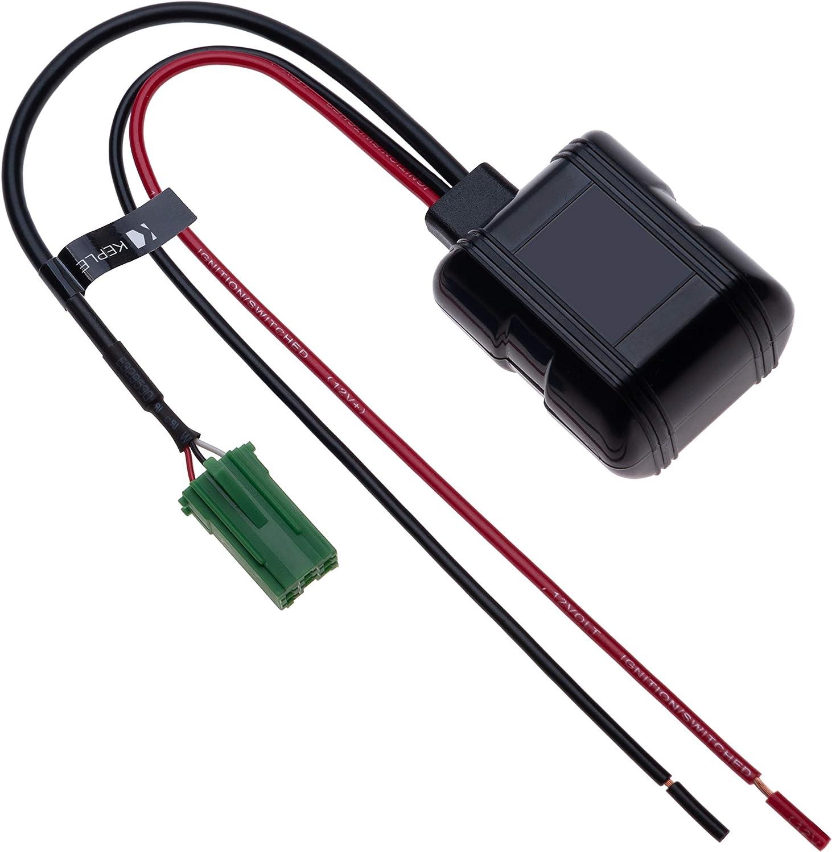 AUX In MINI ISO 6 PIN Modulo Bluetooth per auto Adattatore audio wireless per musica con microfono Vivavoce per aggiornamento radio Renault