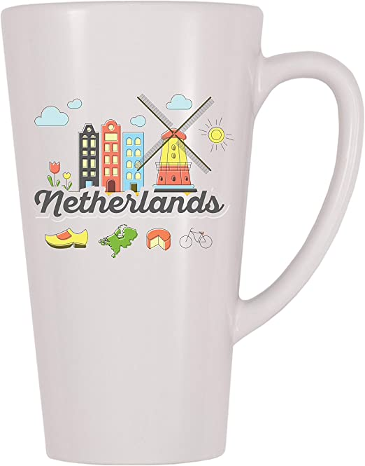 4 All Times Netherlands Coffee Mug 11 oz