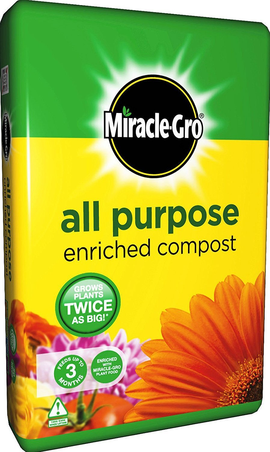 Miracle-Gro All Purpose Enriched Compost 40L Scott' s