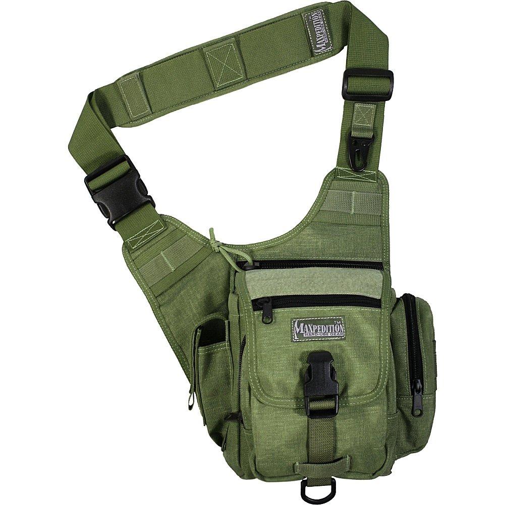 Maxpedition Maxpedition S-type Fatboy (green) - Mochila, color verde, talla UK: 30 in: Amazon.es: Deportes y aire libre