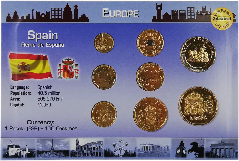 IMPACTO COLECCIONABLES Monedas de ESPAÑA - Las Últimas Pesetas ...