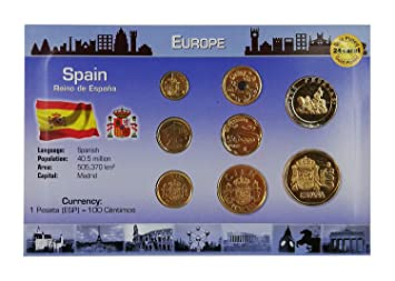 IMPACTO COLECCIONABLES Monedas de ESPAÑA - Las Últimas Pesetas Bañadas en Oro de 24 Quilates