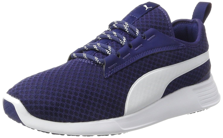 Puma Unisex-Erwachsene St Trainer Evo V2 Sneaker  46 EU|Blau (Blue Depths-white)
