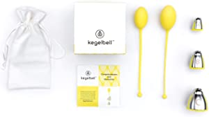KEGELBELL Training Kit for Pelvic Floor Muscle & Incontinence | Only 5-Min & 3X/wk | FDA Registered | Medical Grade Silicone | Safe, Natural Results in 2wks