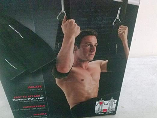 Perfect Pullup Pull Up Ab Straps Exercise Fitness Abdominal Crunch Workout Gym