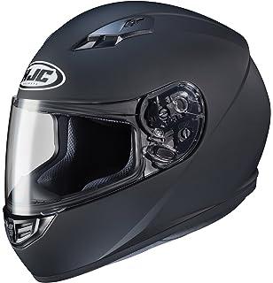 HJC Helmets CS-R3 Unisex-Adult Full Face Matte Motorcycle Helmet (Matte Black