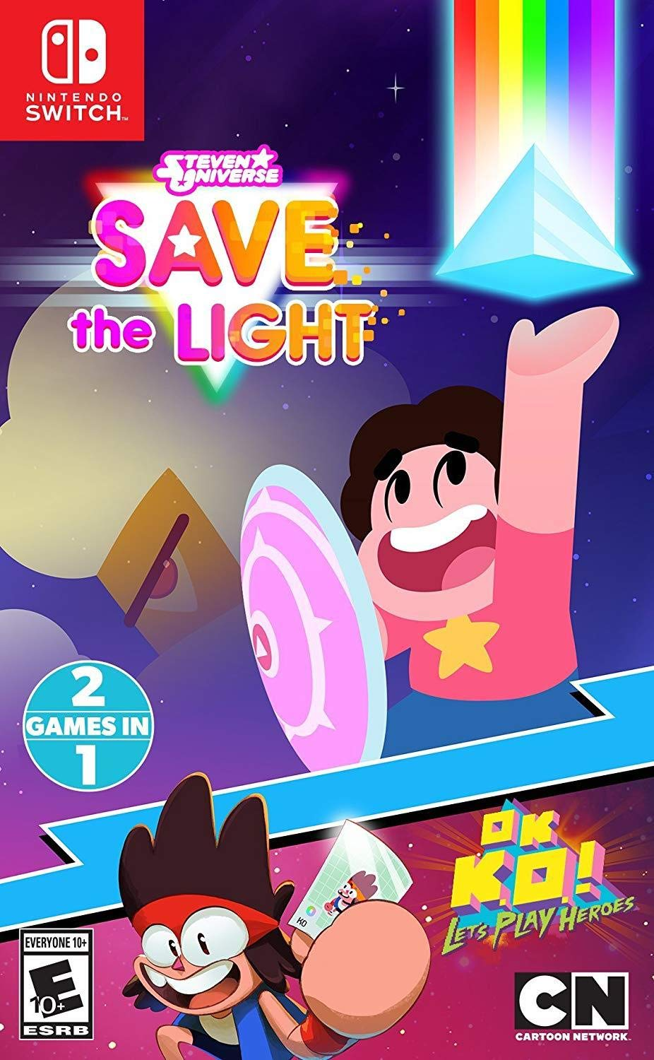 Steven Universe: Save the Light & OK K.O.! Lets Play Heroes for Nintendo Switch USA: Amazon.es: Bandai Namco Games Amer: Cine y Series TV