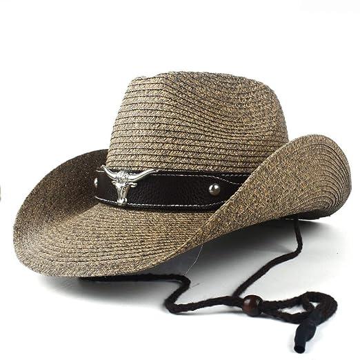 Fashion Sun Hat para Hombre y Mujer Moda Verano Paja Mujeres ...