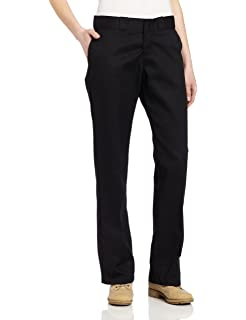 4e68a03e60e Dickies Women's Original Work Pant with Wrinkle And Stain Resistance