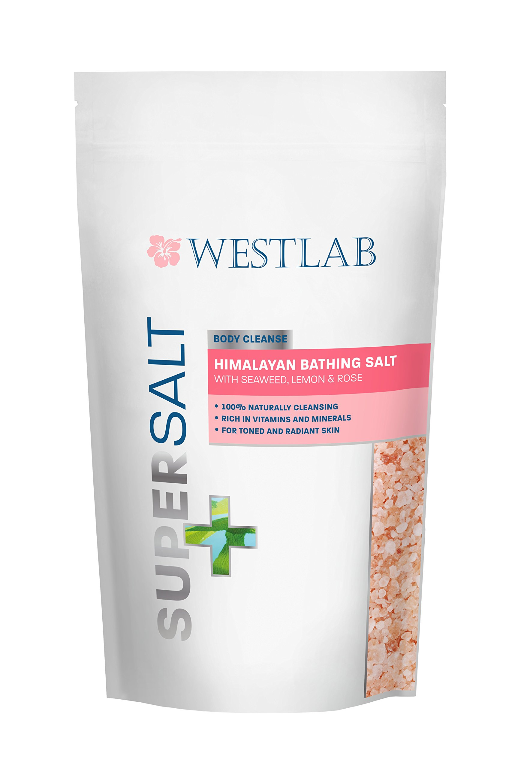 Himalayan Salt SuperSalt (2 Pack) with Seaweed, Lemon and Rose