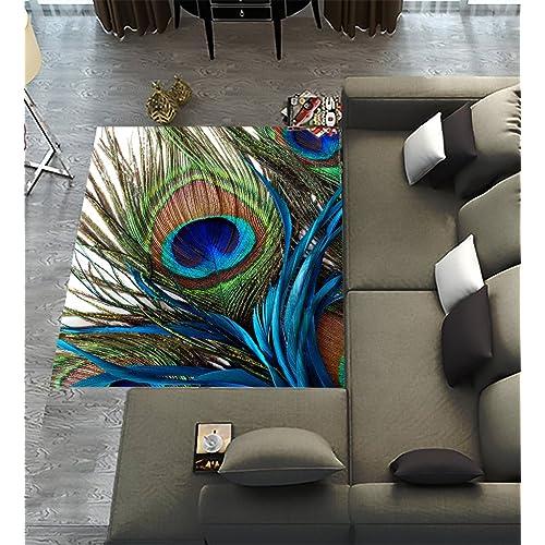 Peacock Rug Amazon Com