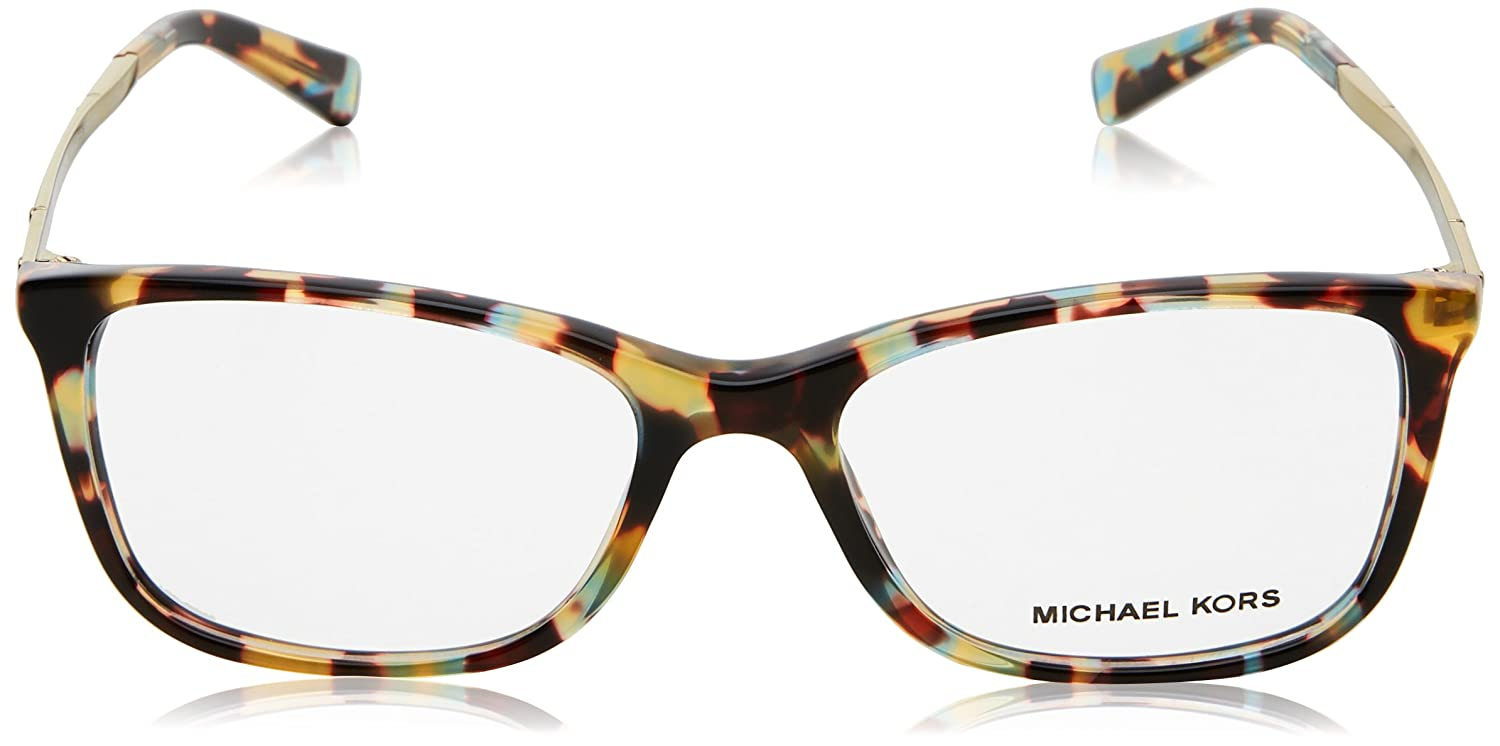 c11c1a4a88c7 Michael Kors Antibes Eyeglasses MK4016 3031 Ocean Confetti Tortoise 53 17  140 at Amazon Men s Clothing store