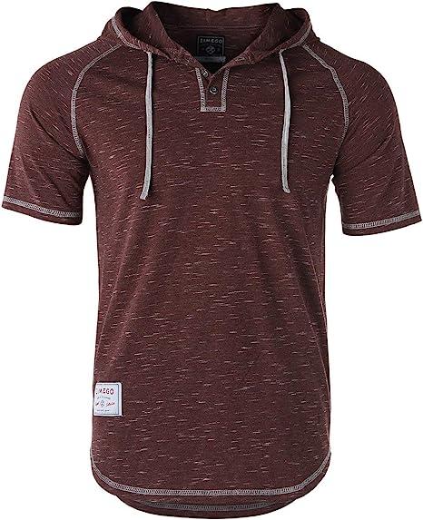 Rrive Mens Cotton Round Neck Color Block Short Sleeve Casual Hip-hop T-Shirts