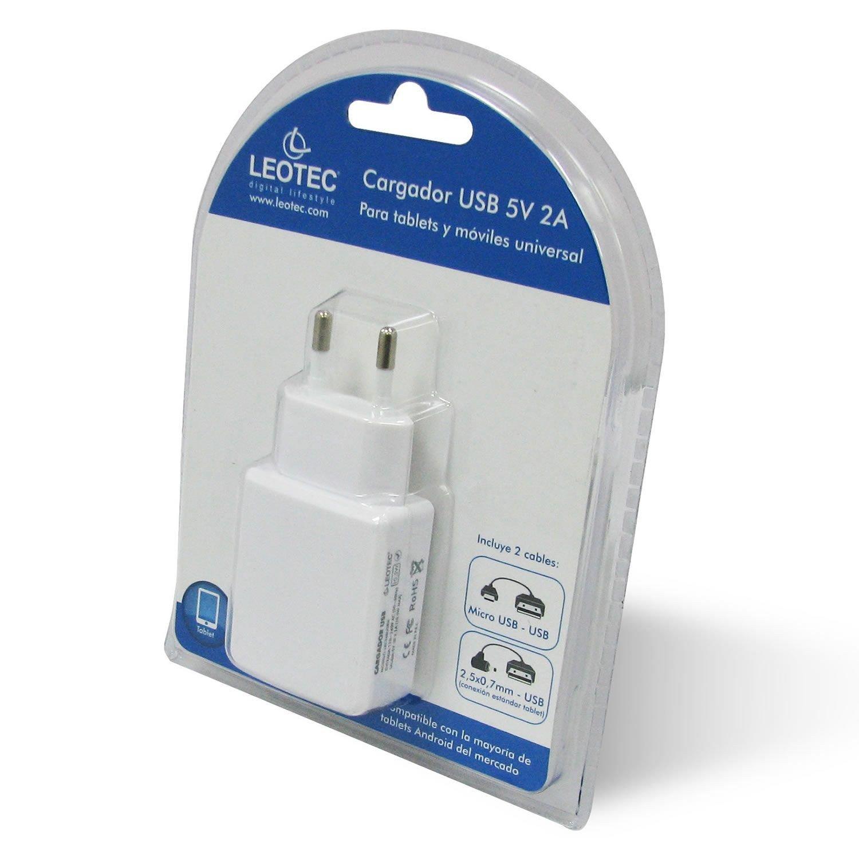 Leotec LECTABUSBW - Cargador universal para Smartphones y tablets ...
