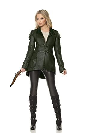 Mystery House Gretel Witch Hunter Deluxe Costume Green/Black Small  sc 1 st  Amazon.com & Amazon.com: Mystery House Gretel Witch Hunter Deluxe Costume: Clothing